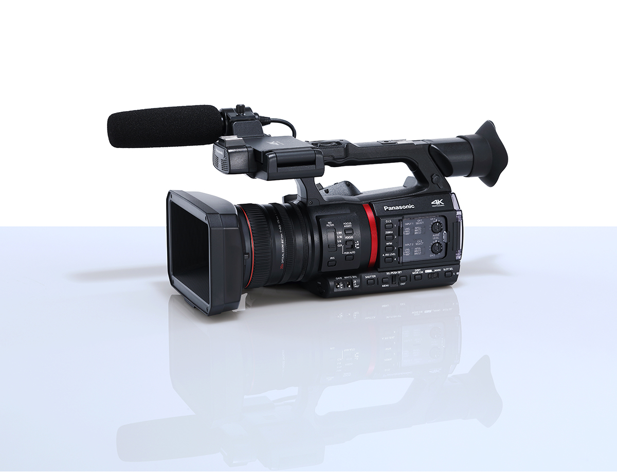 AG-CX350 | Professional 4K Camcorder | Broadcast and Professional AV